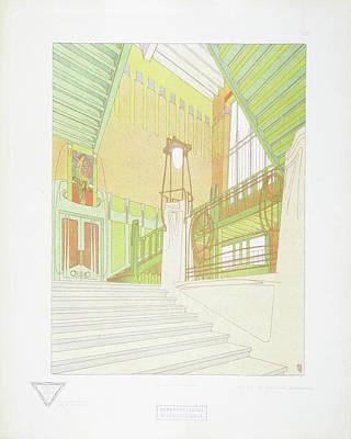 Inv Painting - Antwerpen by Joseph Gradl