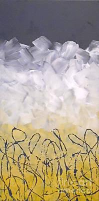 Abstract Handbag Painting - Anxiety by Jilian Cramb - AMothersFineArt