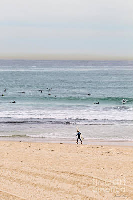 Bondi Beach Photograph - Any Day's A Good Day To Surf by Linda Lees