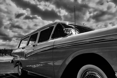 Photograph - Any Ford In A Storm by Mark David Gerson