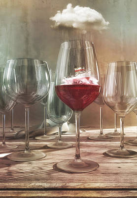 Drink Digital Art - Any Port In A Storm by Cynthia Decker