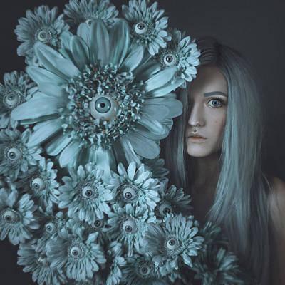 Photograph - Anya's Eyes by Anya Anti