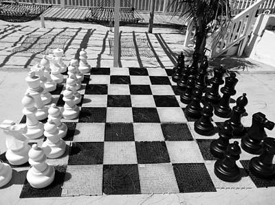 Photograph - Anyone For Chess by Debbie Oppermann