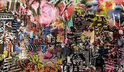Painting - Anyone Lived In A Pretty How Town by Tommy McDonell
