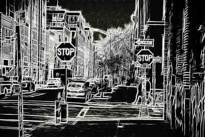Photograph - Downtown New York by Doc Braham