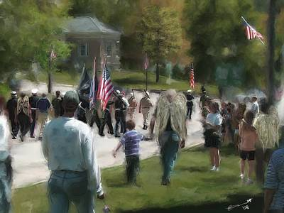 Painting - Anytown Usa by Eddie Durrett
