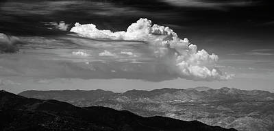 Photograph - Anza Borrego Afternoon Monsoon by William Dunigan