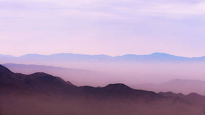 Anza Borrego Desert Photograph - Anza-borrego Blue Ridge by Joseph Smith