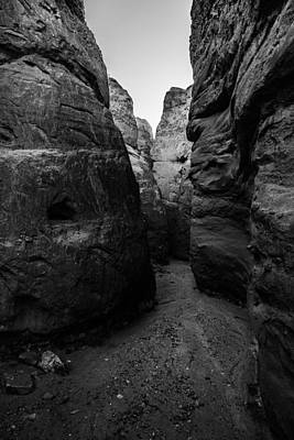 Photograph - Anza Borrego - Devils Canyon Narrows by Alexander Kunz