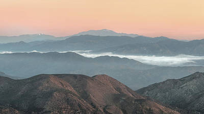 Anza Borrego Desert Photograph - Anza-borrego Morning by Joseph Smith