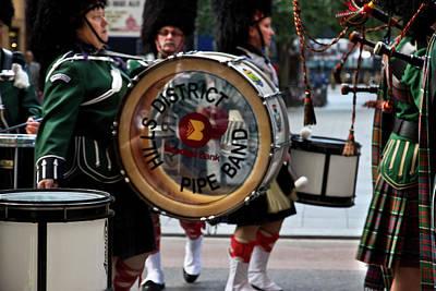 Photograph - Anzac Day March Drum Corps by Miroslava Jurcik