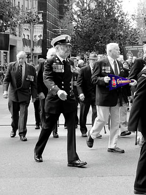 Photograph - Anzac Day March - Hmas Cootamundra by Miroslava Jurcik