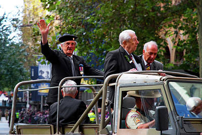 Photograph - Anzac Day March - The People I Respect by Miroslava Jurcik