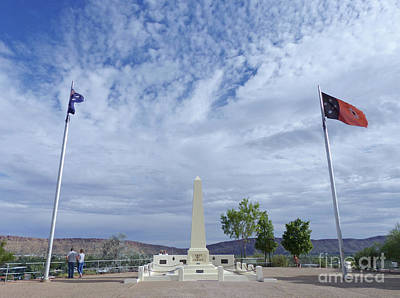 Photograph - Anzac Hill - Alice Springs by Phil Banks