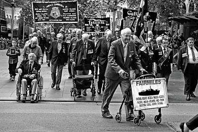 Photograph - Anzac Parade Fairmiles by Miroslava Jurcik
