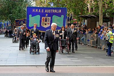 Photograph - Anzac Parade Hmas Australia by Miroslava Jurcik