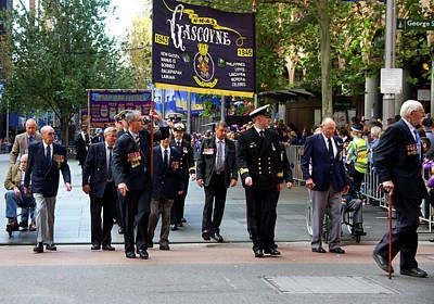 Photograph - Anzac Parade Hmas Gascoyne by Miroslava Jurcik