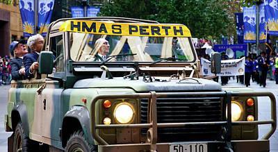 Photograph - Anzac Parade  Hmas Perth by Miroslava Jurcik