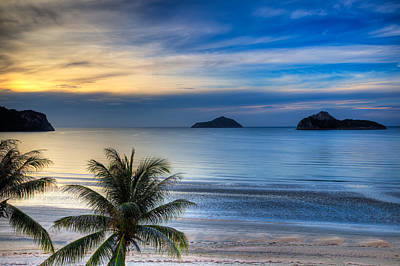Thai Photograph - Ao Manao Bay by Adrian Evans
