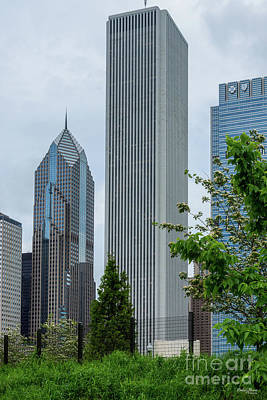 Photograph - Aon And Two Prudential by Jennifer White