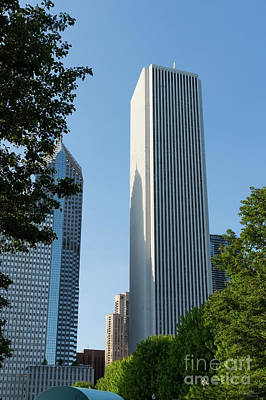 Photograph - Aon Center Chicago by Jennifer White