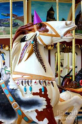 Photograph - Apache Carousel Horse by The Art of Alice Terrill
