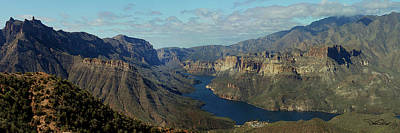 Apache Lake Photograph - Apache Lake Panorama by David Salter