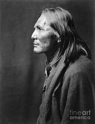 Painting - Apache Man, C1906 by Granger