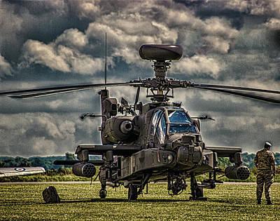 Apache Warrior Photograph - Apache by Martin Newman