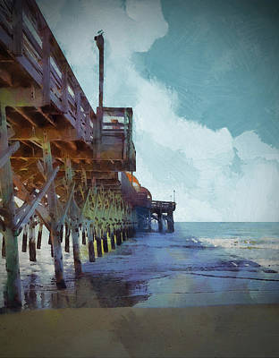 Photograph - Apache Pier by Cedric Hampton