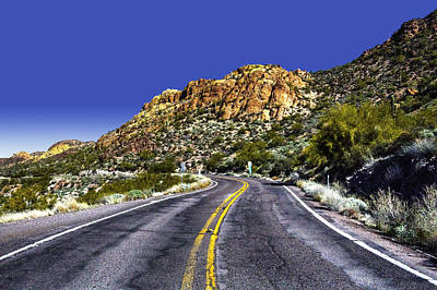 Photograph - Apache Trail No. 2 by Roger Passman