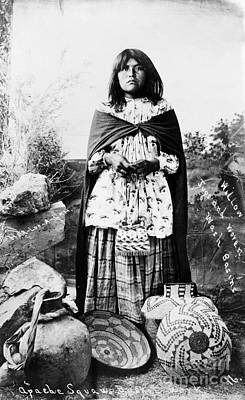 Painting - Apache Woman, C1908 by Granger