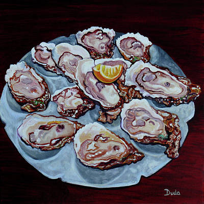 Painting - Apalachicola Fresh by Susan Duda