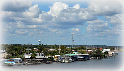 Photograph - Apalachicola Waterfront by Carla Parris