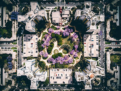 Photograph - Apartment Complex From Above by Andrew Mason