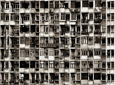 Photograph - Apartment Jungle by Joe Bonita