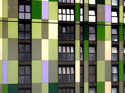 Photograph - Apartments By Colour 1 by Dorothy Berry-Lound