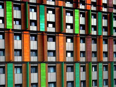 Photograph - Apartments By Colour 2 by Dorothy Berry-Lound
