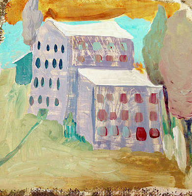 Painting - Apartments by Carole Johnson