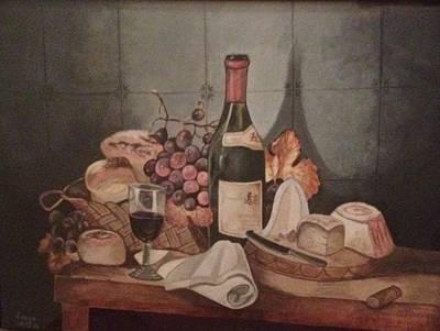 Painting - Aperitif  by Elizabeth Mundaden