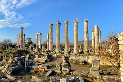 Aphrodisias Photograph - Aphrodisias City, Turkey by Ivan Batinic