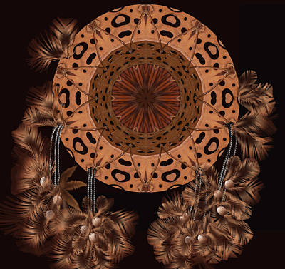 Copper Beads Digital Art - Aphrodite by Deborah Holland