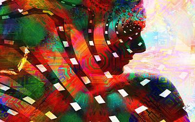 Digital Art - Aphrodite by Kiki Art