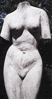 Sculpture - Aphrodite by Michael Rutland