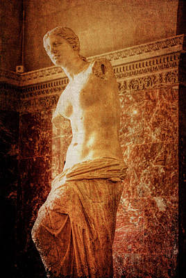 Aphrodite Of Milos Art Print by JAMART Photography