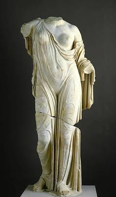 Photograph - Aphrodite by Roman School