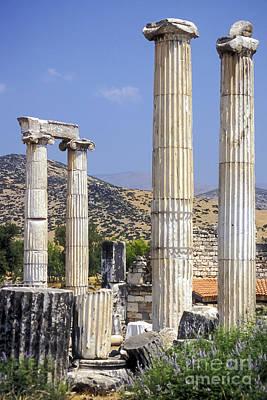 Aphrodisias Photograph - Aphrodite Temple Ruins by Bob Phillips