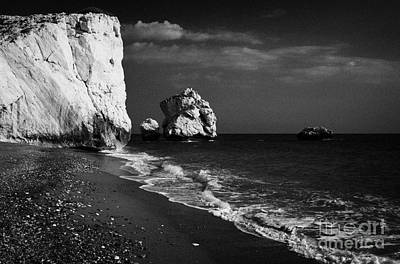 Aphrodites Rock Petra Tou Romiou Republic Of Cyprus Art Print