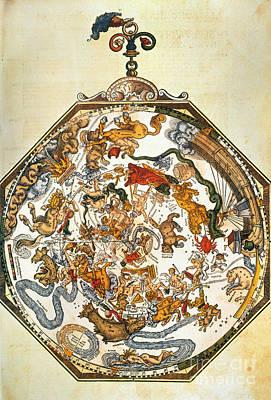 Photograph - Apians Zodiac, 1540 by Granger