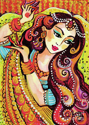 Painting - Abhinaya by Eva Campbell